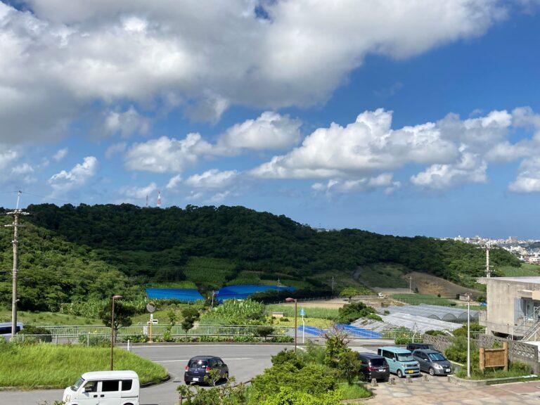 公園から見た「高津嘉山」